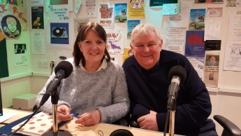 Rhian Morgan and Kevin Carden of North Cotsswold Food Bank 280220